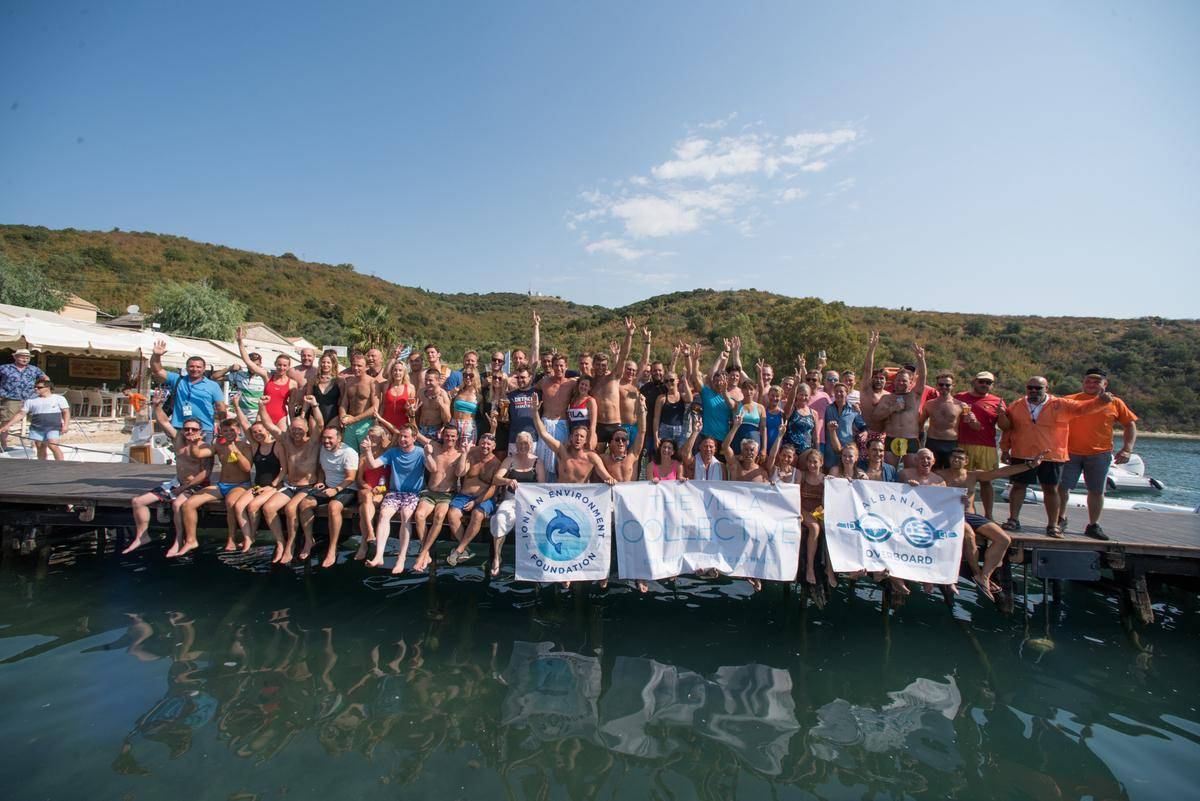 Albania Overboard: Swimming the Corfu - Albania channel for charity